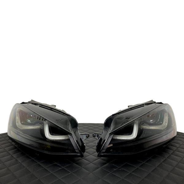 Scheinwerfer-Lackierung - VW Golf 7 VFL - R GTI GTE GTD