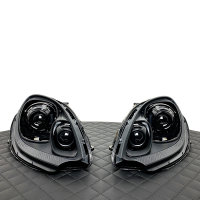 Scheinwerfer-Lackierung - Porsche Macan 95B.1 S GTS Xenon