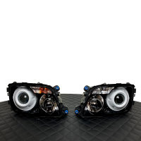 Scheinwerfer-Lackierung - Mercedes Actros MP3 - LKW