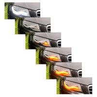 Scheinwerfer-Umbau - Dynamischer LED Blinker - Audi A4 S4...