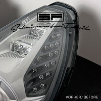 Reparatur - Ferrari California - gebrochene LED-Blinker-Optiken - Defekt