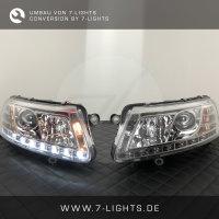 Umbau - Dynamische Blinker LED TFL Scheinwerfer - Sonar -...