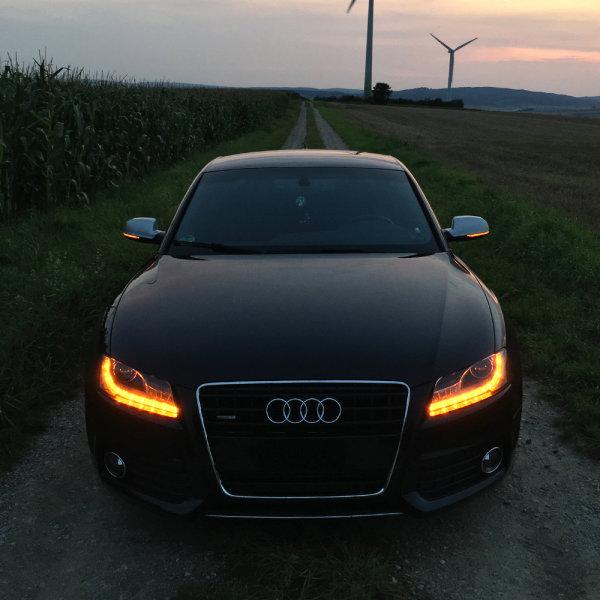Scheinwerfer-Umbau - Dynamischer LED Blinker - Audi A5 S5 RS5 8T VFL