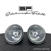 Scheinwerfer-Lackierung - Porsche 911 997.1 - Turbo...