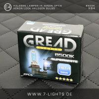 2x GREAD Silverline Halogen-Lampe Xenon-Optik 8500k H11