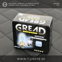 2x GREAD Silverline Halogen-Lampe Xenon-Optik 8500k H3