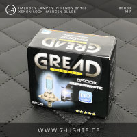 2x GREAD Silverline Halogen-Lampe Xenon-Optik 8500k W5W