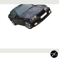 Scheinwerfer Angel Eyes Schwarz passt für BMW E36 Limousine Touring alle Modelle