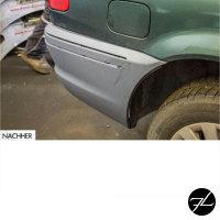 Sport Stoßstange Hinten PDC+Diffusor für M Paket passt für BMW E46 98-05 + *ABE*