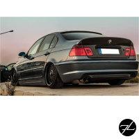Sport Heck Stoßstange Limousine o.PDC passt für BMW 3er E46 +ABE* nicht M-Paket