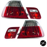 LED RÜCKLEUCHTEN Set Coupe Rot Weiss passt für...