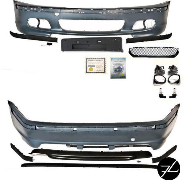 Stoßstange BODYKIT Komplett passt für BMW E46 Limousine nicht für M-Paket +ABE*