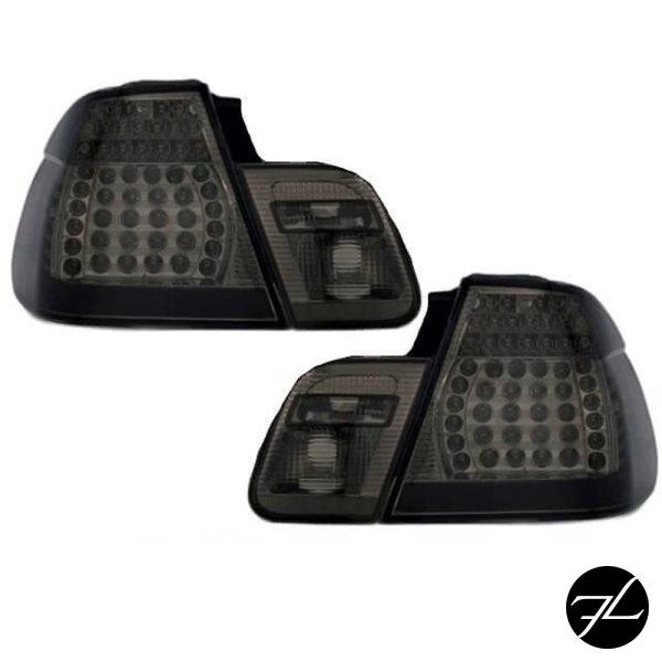 LED Rückleuchten Set Smoke Black passend für BMW E46 Limousine Bj 01-05