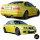 Bodykit Stoßstange +Schweller passt für BMW E46 Coupe Cabrio 99-03/03 nicht M3 M