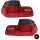 LIMOUSINE LED Rückleuchten SET Rot Smoke abgedunkelt passt für BMW E46 1998-2001