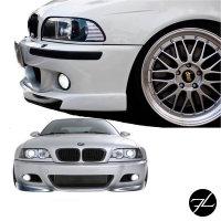 Sport Front Stoßstange SET+Nebel Smoke für M Paket II passend auf BMW E46 +ABE*
