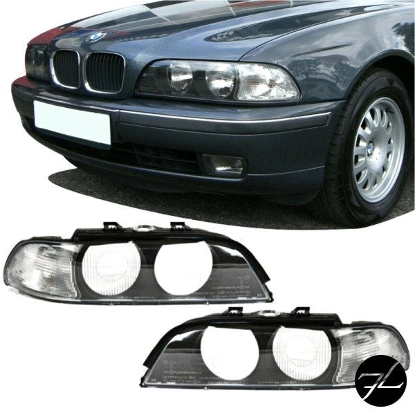 Scheinwerfer Gehäuse Rechts &Links Blinker Weiß passt auf BMW E39 außer FACELIFT