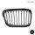 2x Grill Kühlergrill Schwarz Seidenmatt passend für BMW 5er E39 + M M5 95-03
