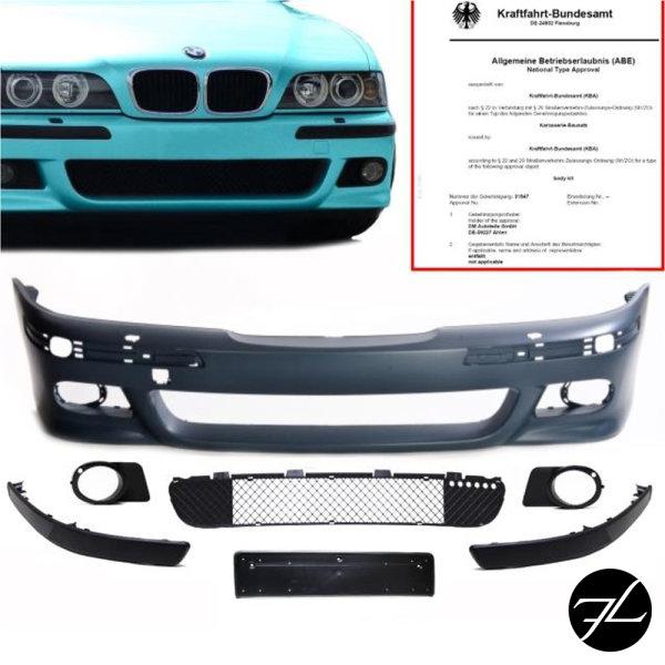 Front Stoßstange passt für BMW E39 Limo Touring+Nebel Set SRA o.PDC nur für M5 M
