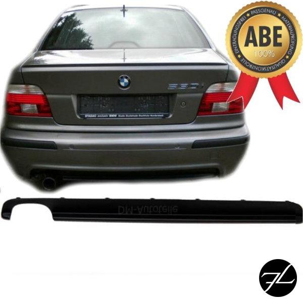 Heckdiffusor Schwarz Stoßstange 520-540i passend für BMW 5er E39 mit M-Paket+ABE
