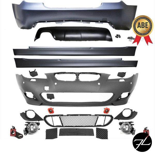 Limousine SPORT Stoßstange KOMPLETT BODYKIT passt für BMW E60 auch M PAKET+ABE*