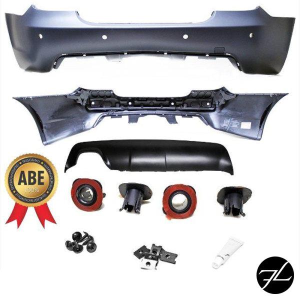 Limousine Heck Stoßstange PDC ABS Diffusor passt für BMW E60 03-07 auch M +ABE**