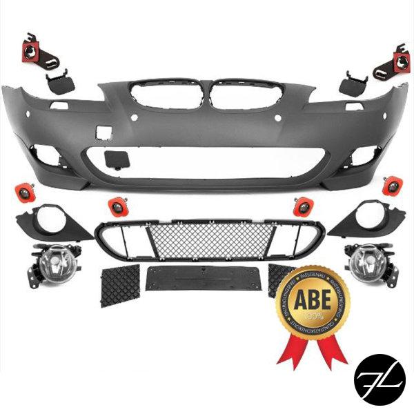 LCI Stoßstange vorne ABS PDC+NSW+Zubehör passt für BMW E60 E61 auch M-Paket *ABE