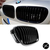 2x Kühlergrill Grill Schwarz Glanz Klavierlack passend für BMW F10 F11 auch M M5