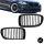 2x Kühlergrill Grill Schwarz Matt Seidenmatt passend für BMW F10 F11 auch M M5