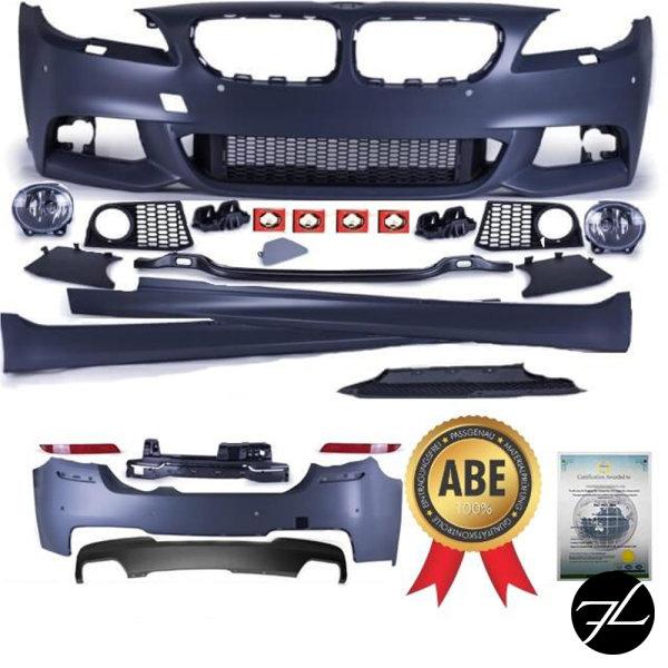 Umbau Bodykit Sport Stoßstange Vorne + hinten +Seite passt für BMW 5er F10 Serie & M-Paket 550i +ABE*