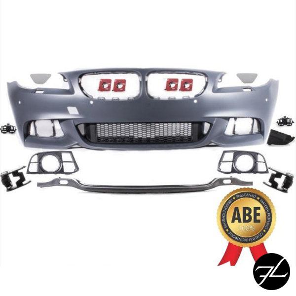 Sport Stoßstange vorne 4 PDC + Zubehör passend für BMW F10 F11 LCI M-Paket 13-17