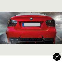 Evo Stoßstange hinten PDC+Diffusor Duplex passt für BMW er E90 nicht M3 + ABE*