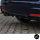 Heckdiffusor 2 Rohr Carbon Glanz Sport-Performance passt für BMW F30 F31 M-Paket