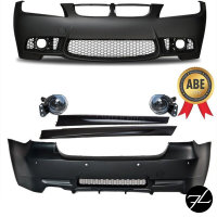 Bodykit Sport Stoßstange ABS Front + Heck + Seite...