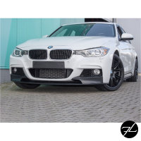 Frontspoiler Lippe Sport-Performance Schwarz Matt passt für BMW 3er F30 F31 mit M-Paket +ABE*
