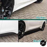 Sport-Performance Spoiler+ Diffusor + Ansätze Schwarz Matt passt für BMW F30 F31