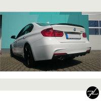 CARBON Glanz Diffusor Sport-Performance passt für BMW F30 F31 M-Paket Stoßstange