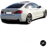 Heck Stoßstange +Diffusor für M-Paket passend für BMW 4er F36 Gran-Coupe + ABE*