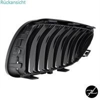 Set Doppelsteg Kühlergrill Schwarz GLANZ Performance passt für BMW E92 E93 LCI