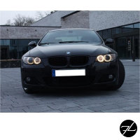 SET Kühlergrill Grill Schwarz Matt passend f. BMW 3er E92 E93 Coupe Cabrio 06-10 auch M-Paket