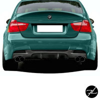 Sport-Performance Diffusor passt für BMW E90 E91 05-11 M-Paket Duplex M3 4-Rohr