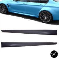 Sport-Seitenschweller SET EVO grundiert Rechts Links passend für BMW F30 F31