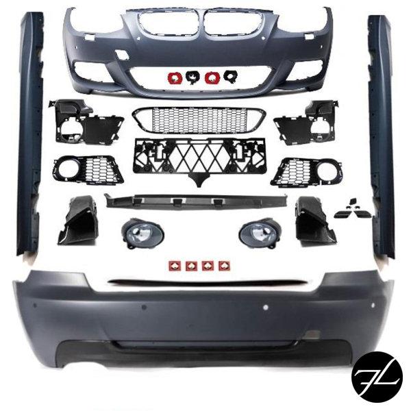 Stoßstange Bodykit LCI für SRA+PDC passt für BMW 3er E92 E93 10-14 +Zubehör M