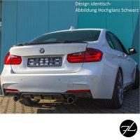 Sport-Performance Heckspoiler Kofferraum passend für BMW 3er F30 Limousine auch M Schwarz Matt