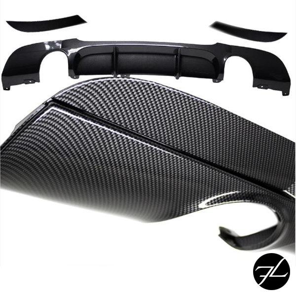 Heckdiffusor Sport-Performance Carbon Glanz Optik passend für BMW E90 E91 335 Modelle mit M-Paket 05-11