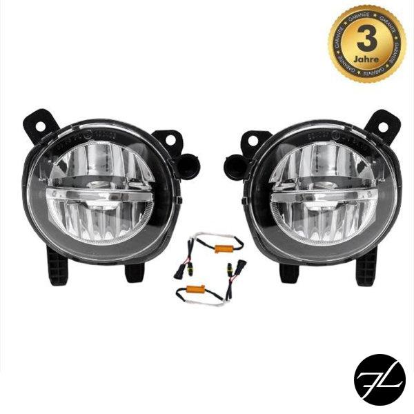 Satz LED Nebelscheinwerfer Klarglas passend für BMW F30 F31 F20 F21 F32 F33 F36 auch M