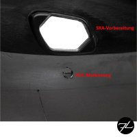 Sport Stoßstange vorne für SRA 06-10 Umbau passt für BMW E92 E93 nicht M3 M GT