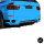PERFORMANCE Stoßstange vorne hinten Spoiler Umbau passt für BMW X5 E70 2010-2013