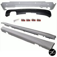 Bodykit Stoßstange Front Seite Heck 09-12 +Zubehör passt für BMW X1 E84 Serie & M-Paket