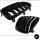 Satz Kühlergrill SET Schwarz Hochglanz Doppelsteg passend für BMW X3 E83 LCI 06-11